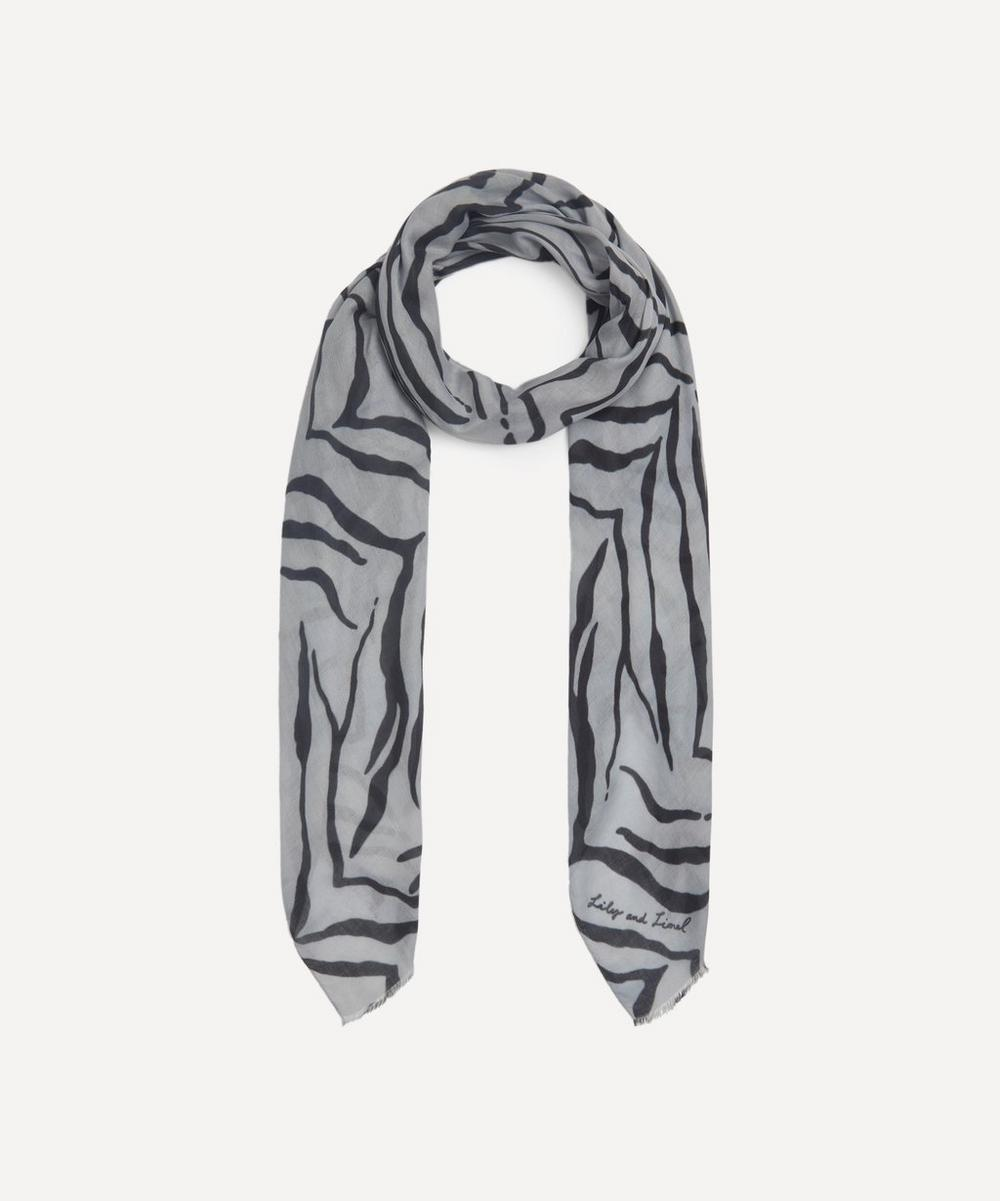 Lily and Lionel - Tiger Modal-Blend Scarf