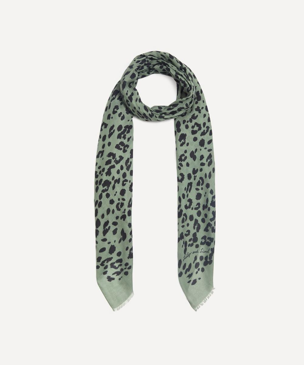 Lily and Lionel - Leopard Modal-Blend Scarf