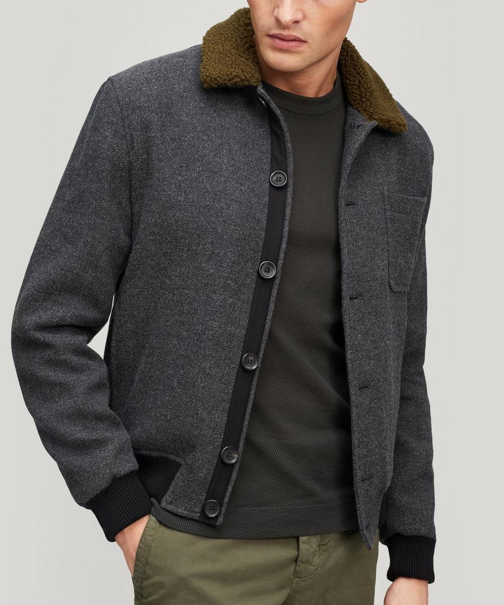 Oliver Spencer - Foxham Faux Shearling Jacket