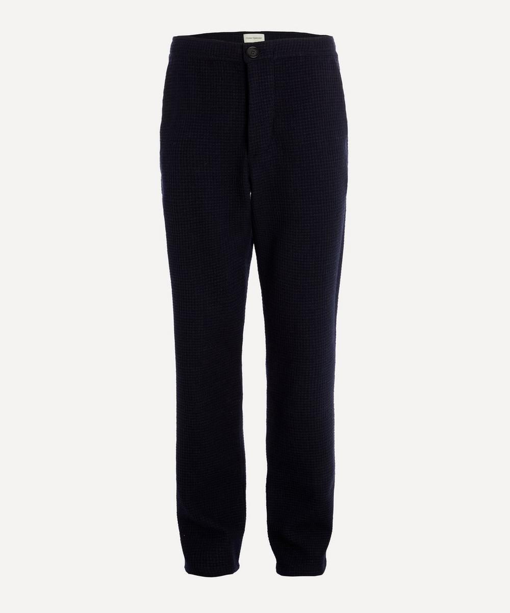Oliver Spencer - Textured Drawstring Trousers