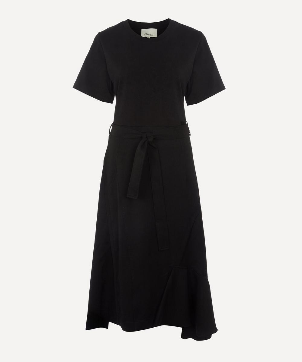 3.1 Phillip Lim - Wool Combo T-Shirt Dress