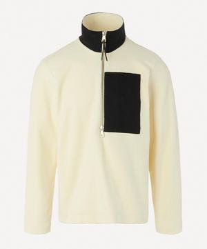Half-Zip Pocket Fleece