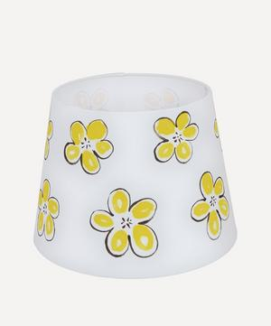 Yellow Flower Lampshade