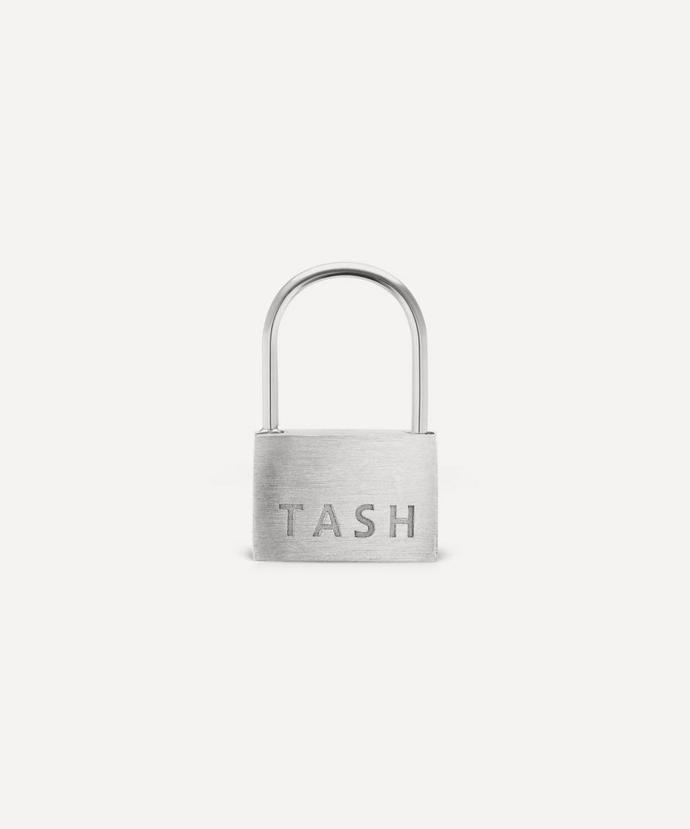 """Maria Tash - 1/4"""" Padlock Hoop Earring"""