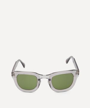 Exclusive Telena Square-Frame Acetate Sunglasses