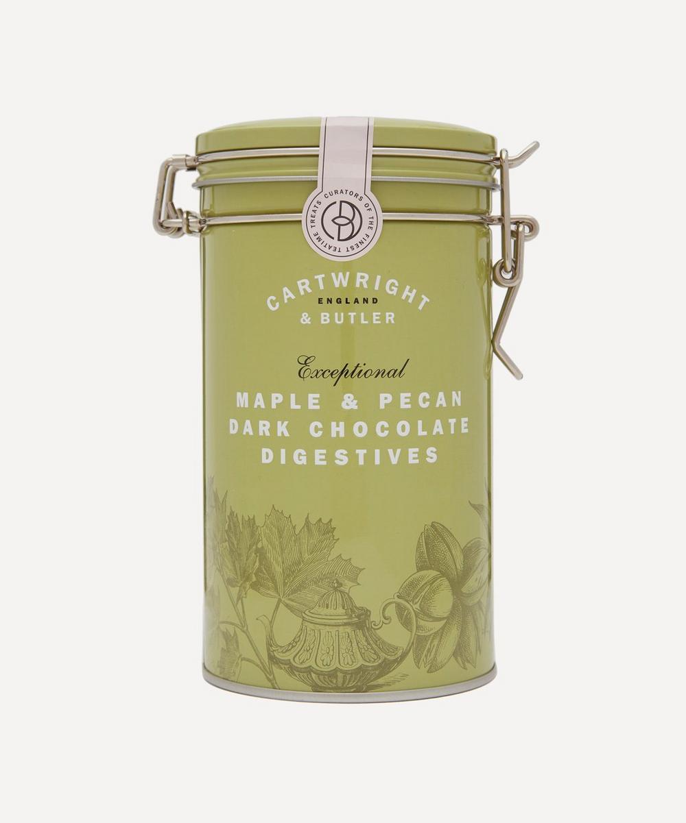 Cartwright & Butler - Maple & Pecan Biscuits in Tin 200g