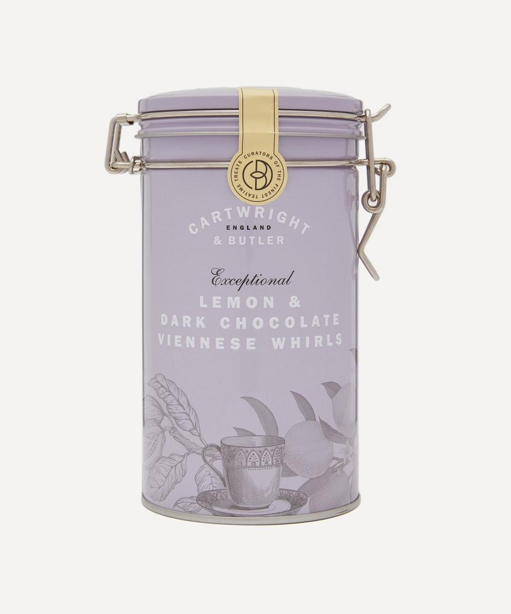 Cartwright & Butler - Lemon and Dark Chocolate Chocolate Viennese Whirls 200g