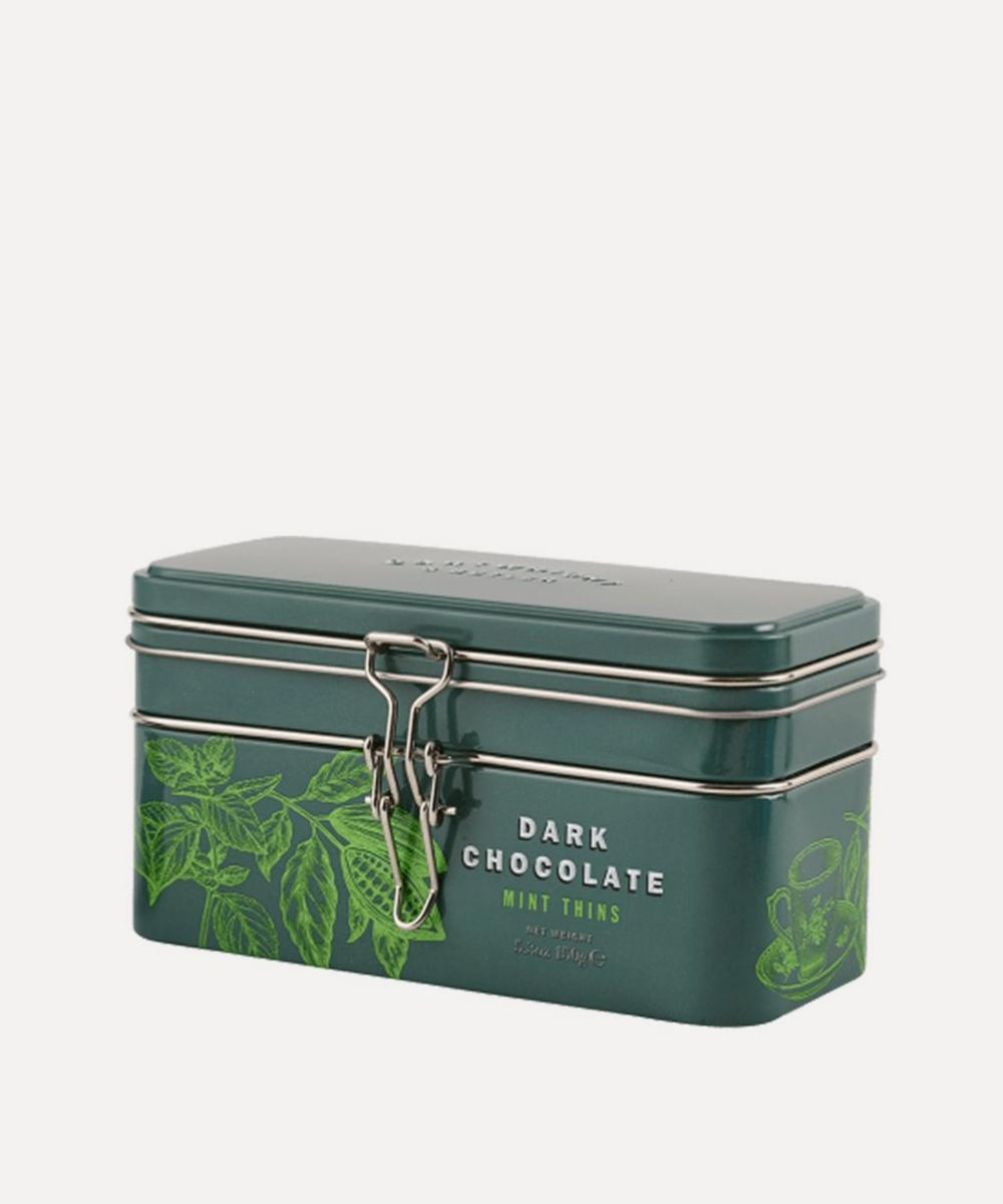 Cartwright & Butler - Treasure Chest Tin With Mint Chocolate Thins 150g