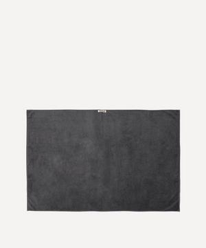 Organic Cotton Bath Sheet in Charcoal Grey