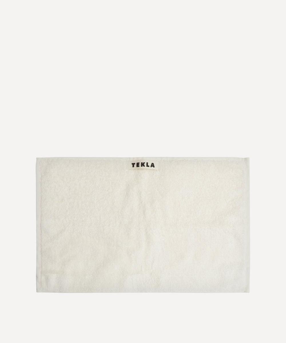 Tekla - Organic Cotton Washcloth in Ivory