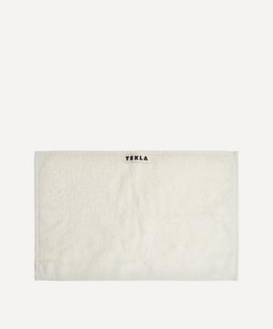 Organic Cotton Washcloth in Ivory