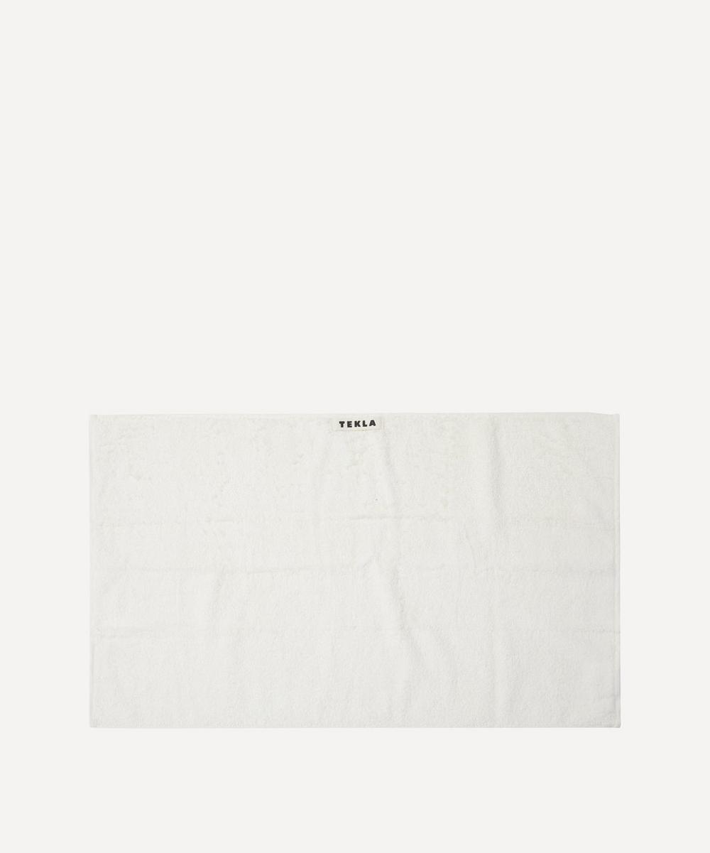 Tekla - Organic Cotton Hand Towel in Ivory