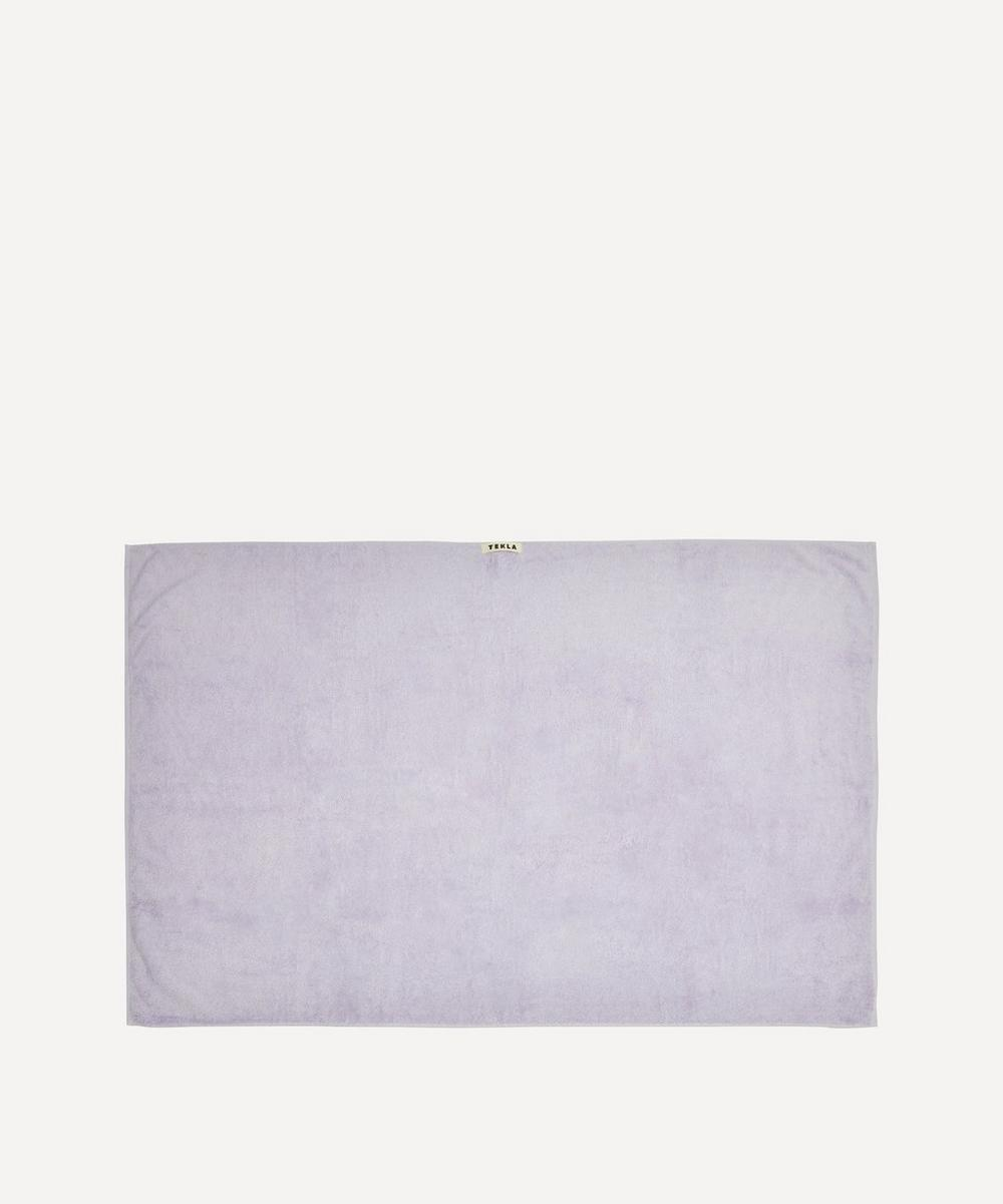 Tekla - Organic Cotton Bath Sheet in Lavender