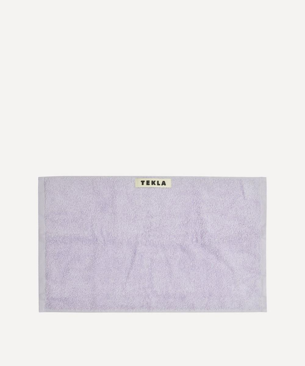 Tekla - Organic Cotton Washcloth in Lavender