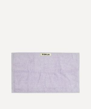 Organic Cotton Washcloth in Lavender