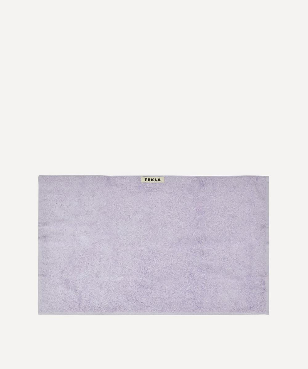 Tekla - Organic Cotton Hand Towel in Lavender
