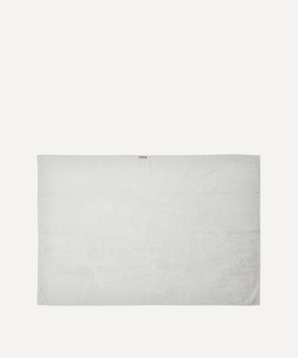 Tekla - Organic Cotton Bath Sheet in Lunar Rock
