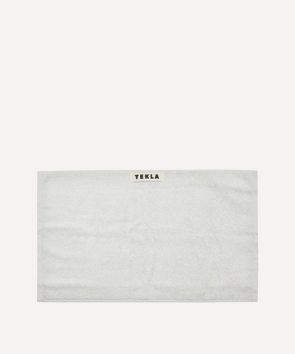 Tekla - Organic Cotton Washcloth in Lunar Rock