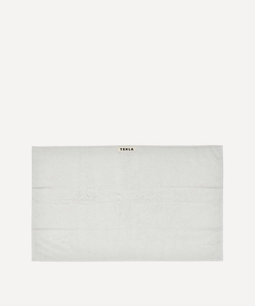 Tekla - Organic Cotton Hand Towel in Lunar Rock