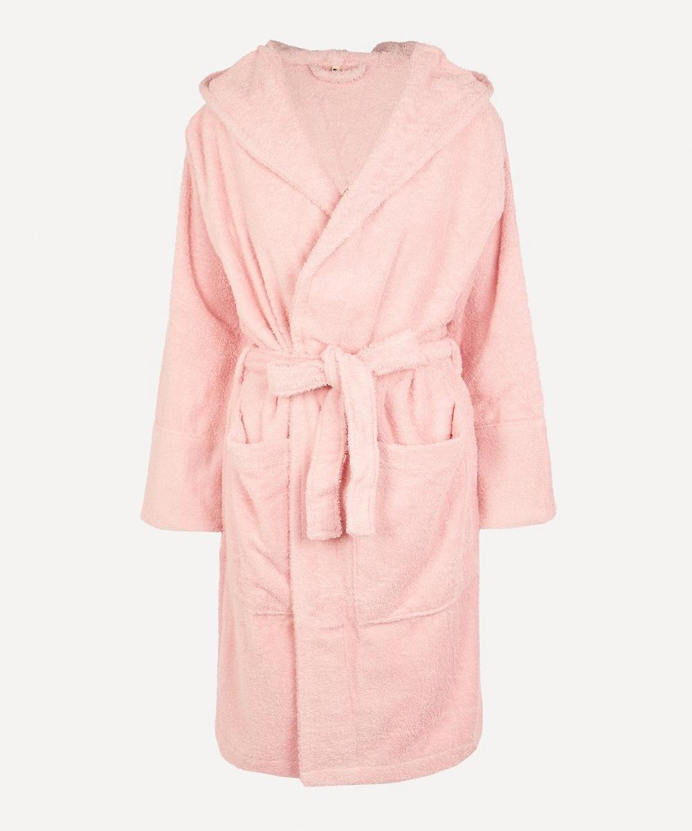 Tekla - Small Bathrobe in Stella Pink
