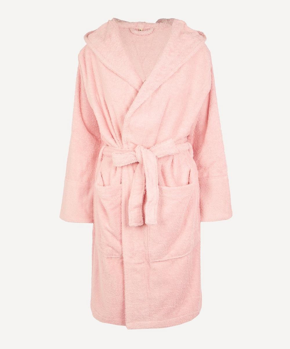 Tekla - Medium Bathrobe in Stella Pink