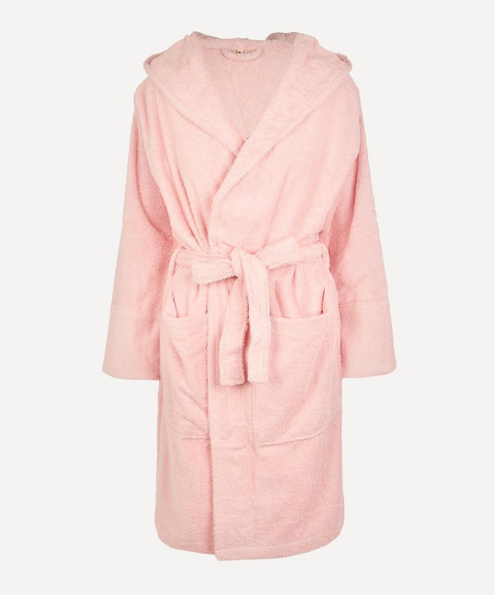 Tekla - Large Bathrobe in Stella Pink
