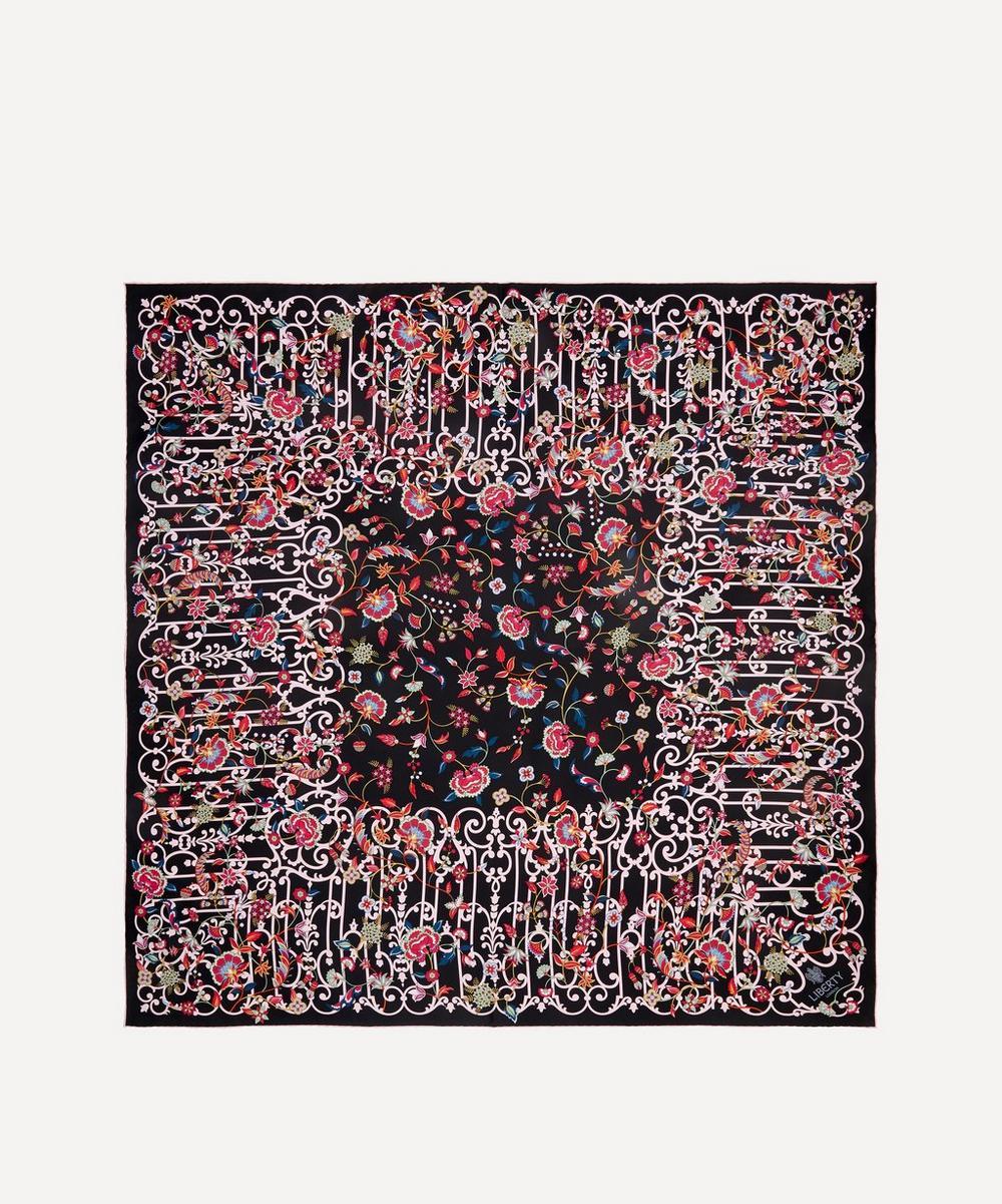 Liberty - Garden Gates 90 x 90cm Silk Twill Scarf