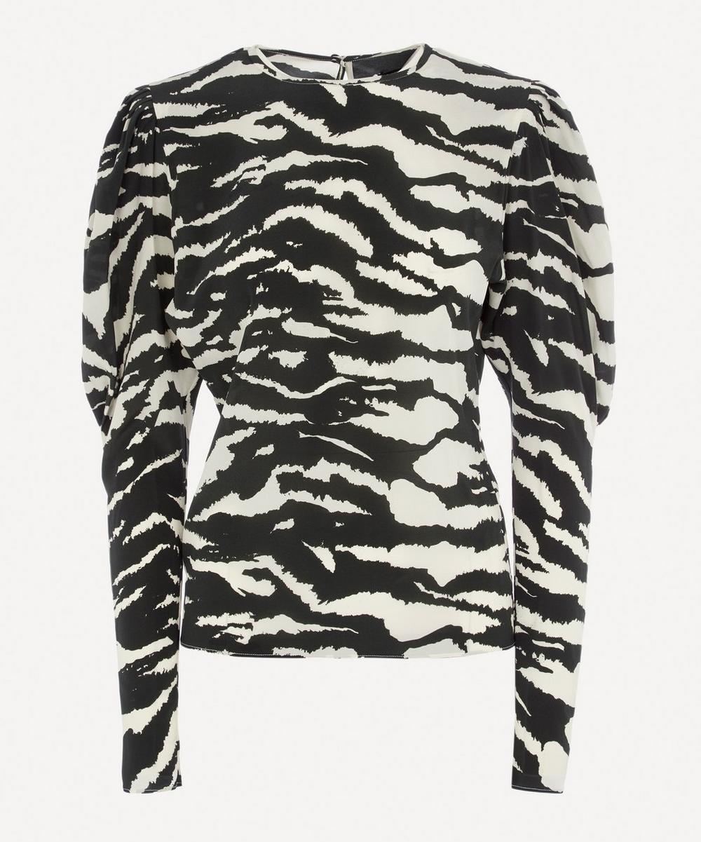 Isabel Marant - Favallia Printed Silk-Blend Blouse