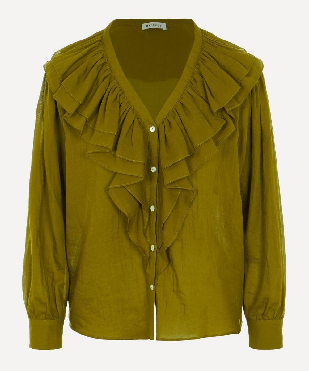 Masscob - Herman Ruffle Collar Shirt