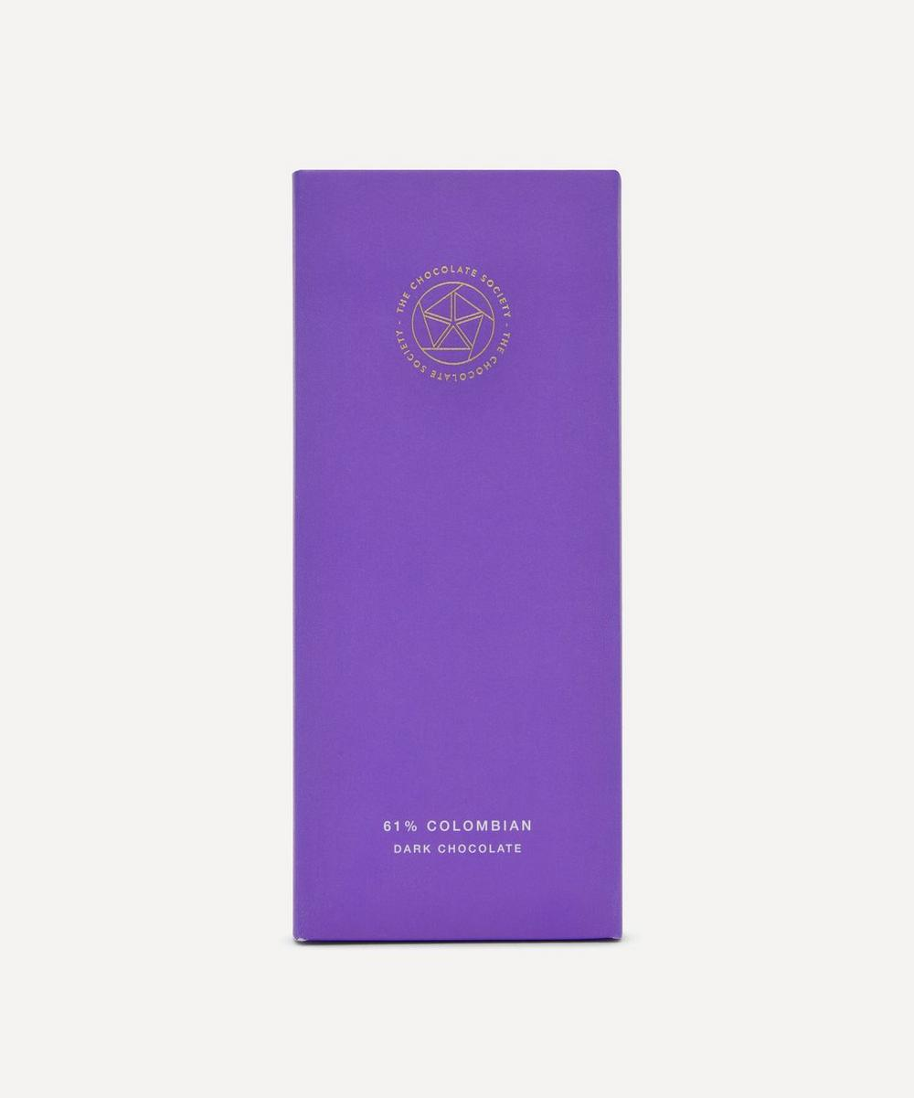 The Chocolate Society - 61% Colombian Milk Chocolate Bar 65g