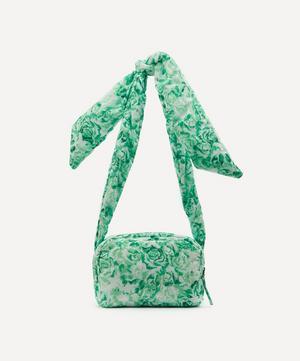 Padded Tech Fabric Shoulder Bag