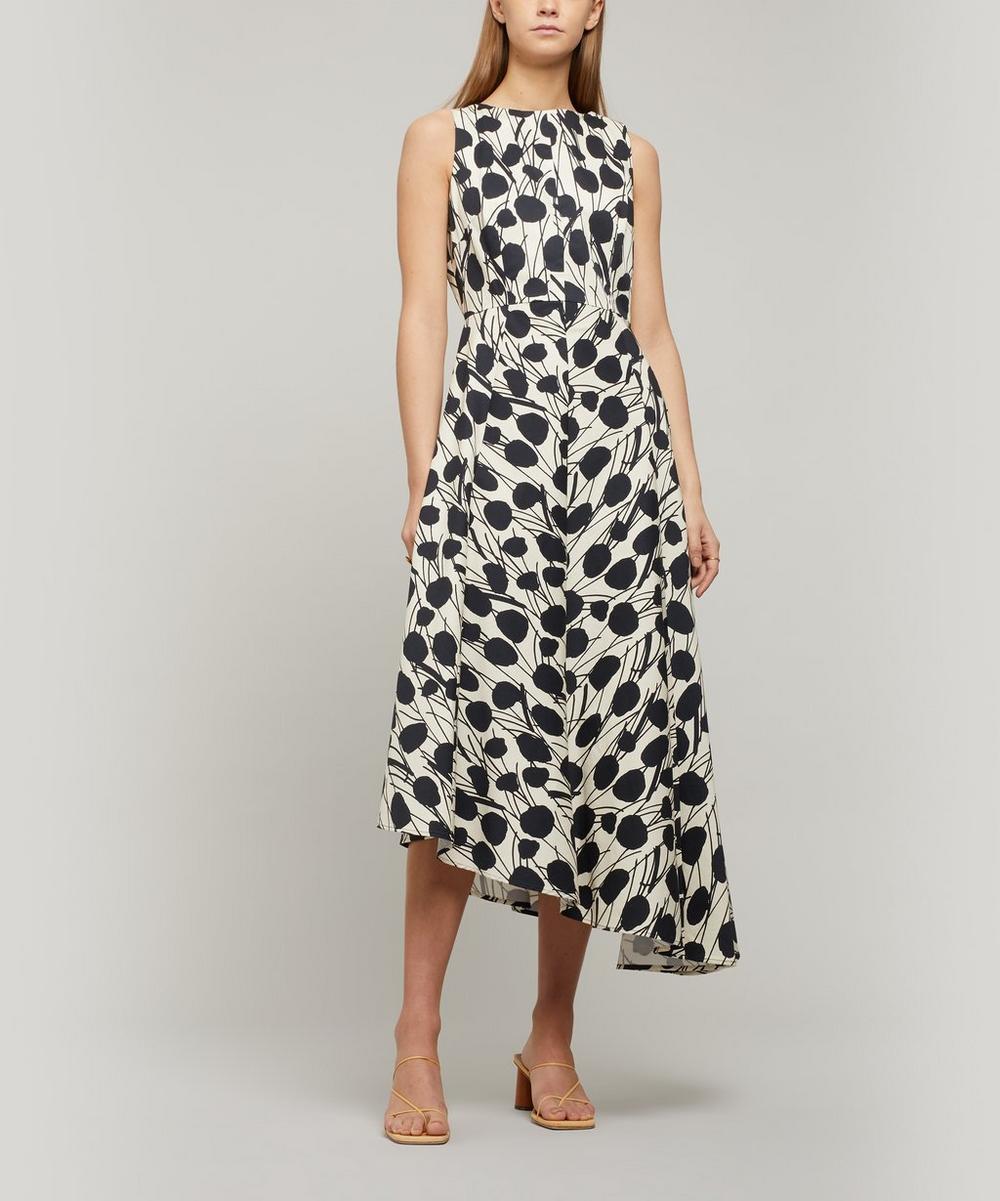 La DoubleJ - Sleeveless Pina Asymmetric Dress