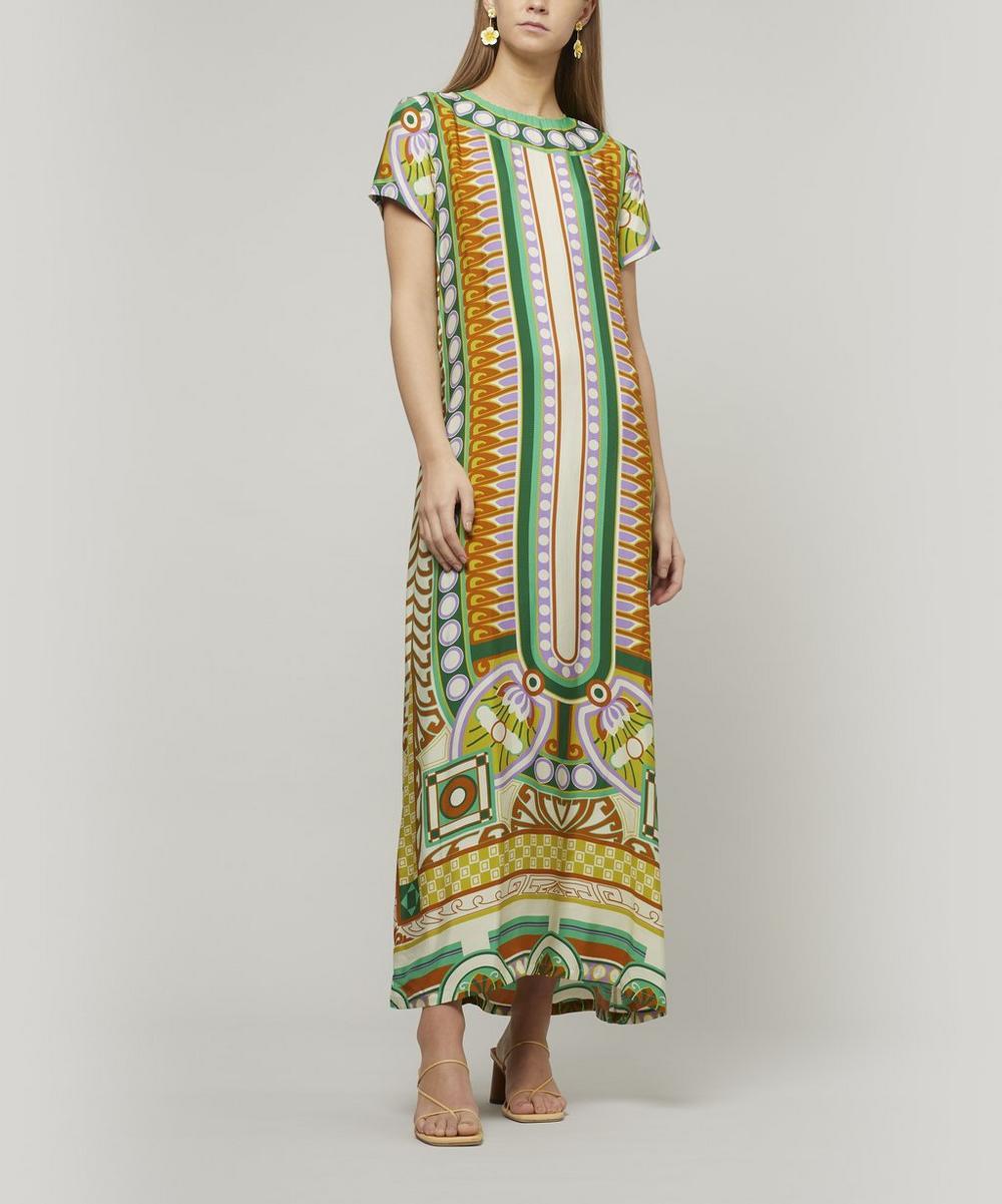 La DoubleJ - Ittica Short-Sleeve Swing Dress
