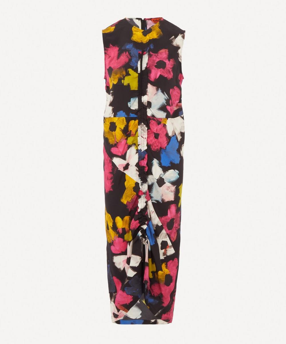 Colville - Floral Print Drawstring Dress