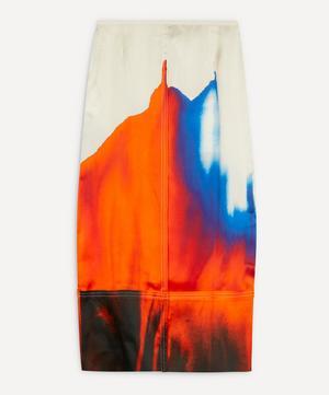 Multi-Dye Panelled Skirt