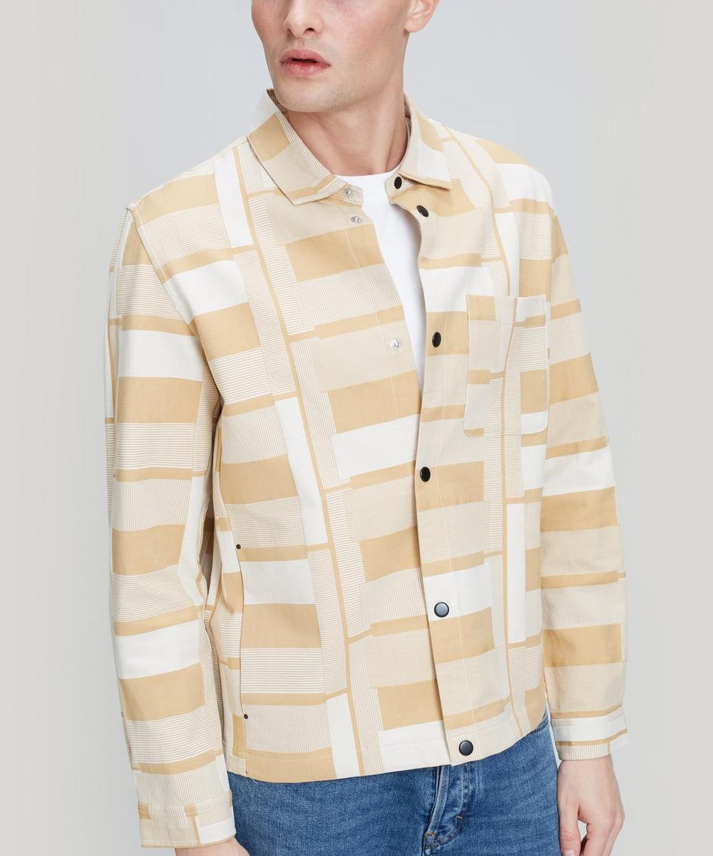 Folk - Marigold Jacquard Orb Jacket