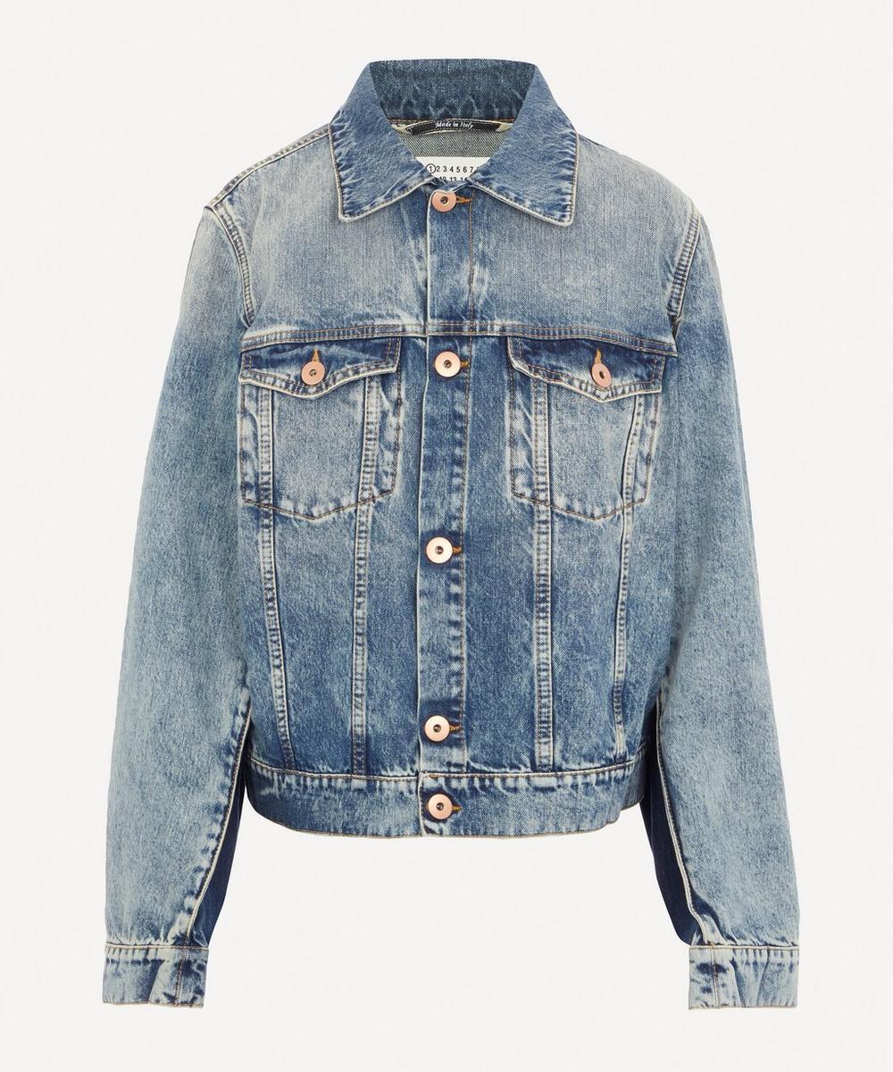Maison Margiela - Cut-Out Washed Denim Jacket