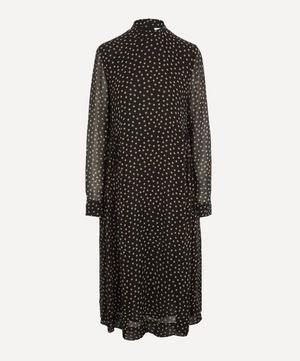 Printed Georgette Midi-Dress