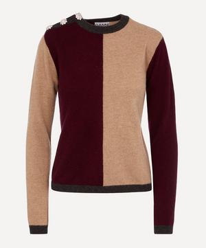 Cashmere Two-tone Knit
