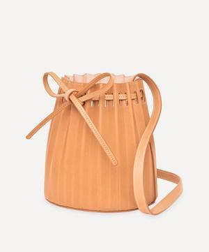 Mini Pleated Bucket Bag