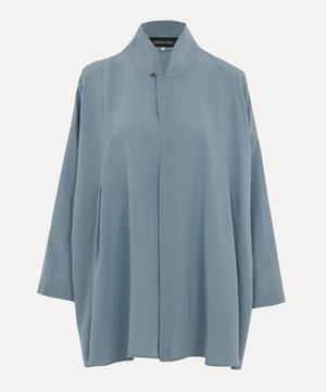 Chinese Collar Swing Shirt