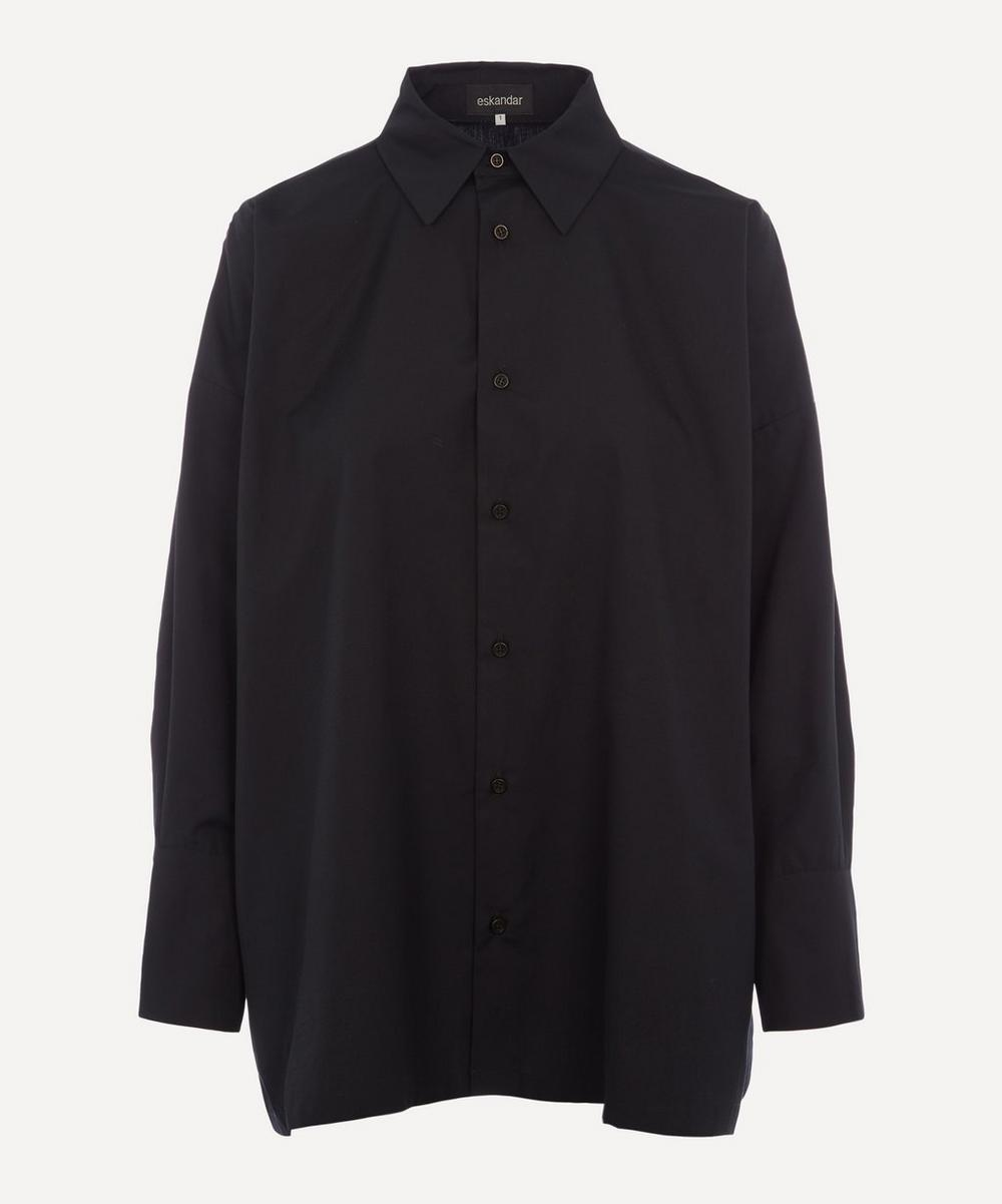Eskandar - A-Line Pleated Shirt