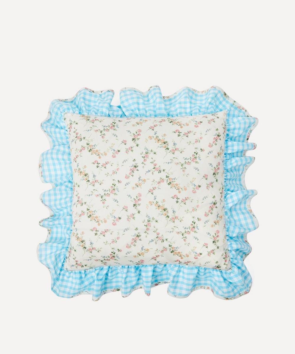 Edit 58 - Elizabeth Liberty Print Square Cushion