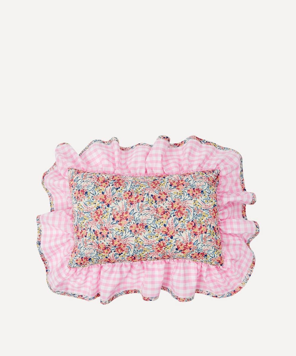 Edit 58 - Swirling Petals Liberty Print Mini Cushion