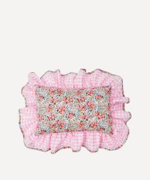 Swirling Petals Liberty Print Mini Cushion