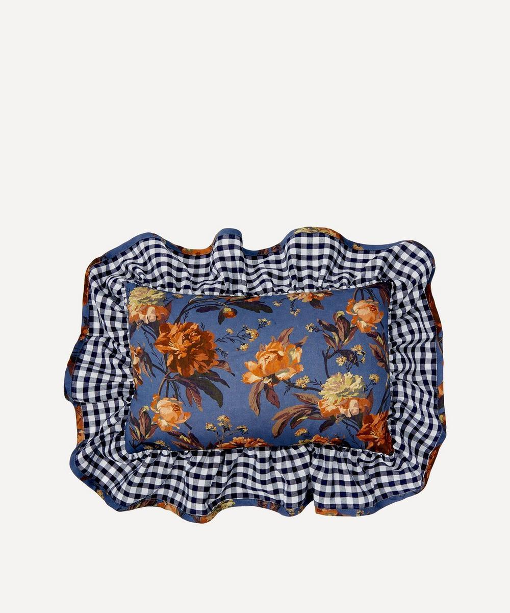 Edit 58 - Decadent Blooms Liberty Print Mini Cushion