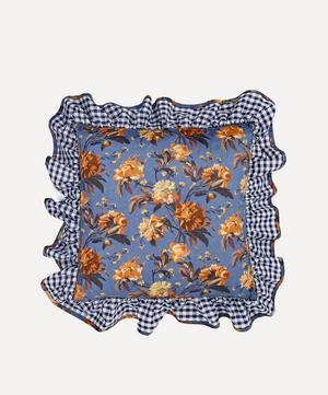 Decadent Blooms Liberty Print Square Cushion