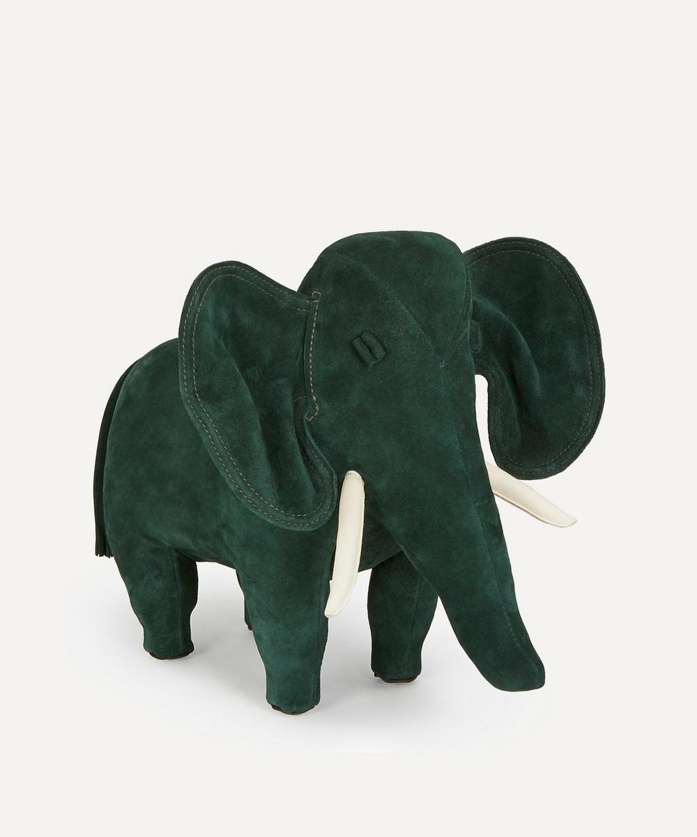 Omersa - Small Suede Elephant