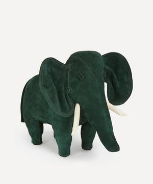 Small Suede Elephant