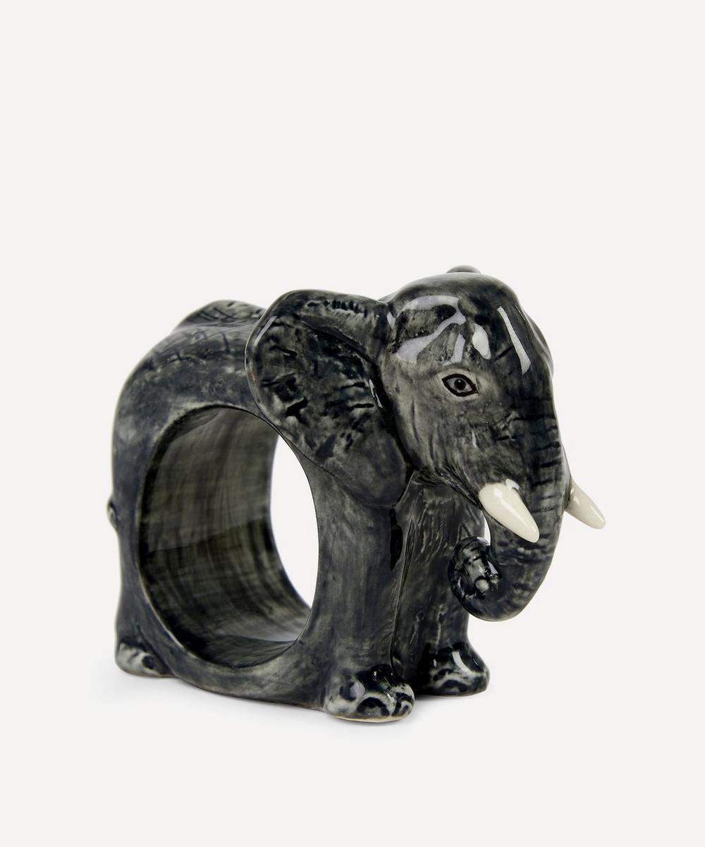 Quail - Elephant Napkin Ring